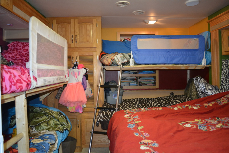 Rv Remodel For A Large Family Crazy Family Adventure